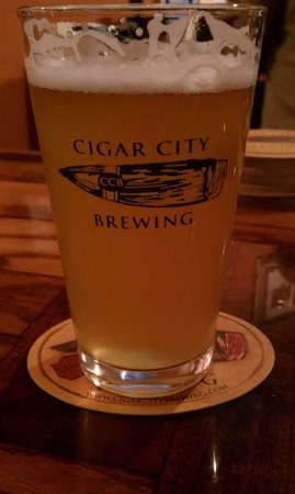 Cigar City Brewing: Oh yes...that's my souvenir cup I'm drinking out of