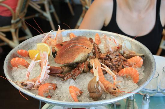 A la Maree: Plateau de fruits de mer