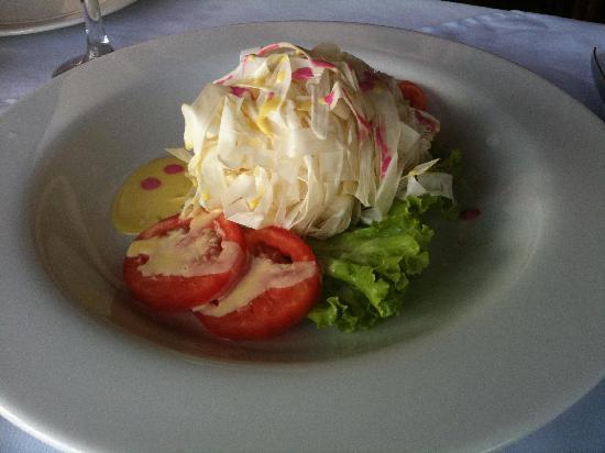 Al Frio y Al Fuego : Spaghetti Palm Salad