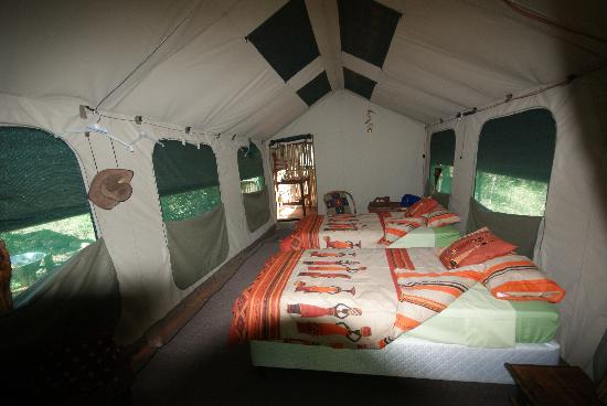 Calao Tented Camp: calao luxury tent