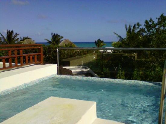 Fairmont Mayakoba: Vistas desde la terraza de la Villa