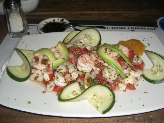 Playa Azul Tulum Restaurant: Ceviche - super fresh