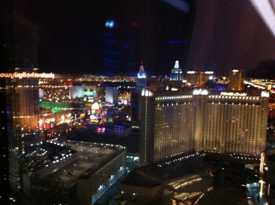 ARIA Resort & Casino: View from 39th floor room