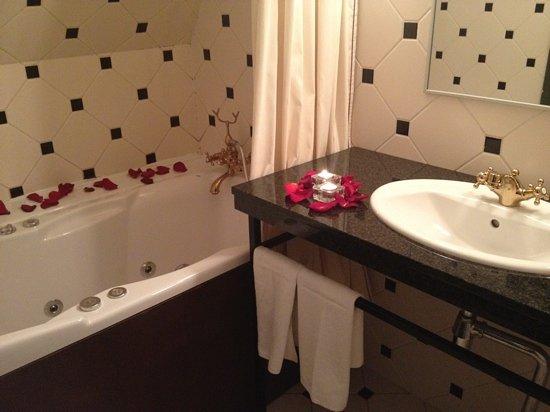 Barons Boutique Hotel: the bathroom