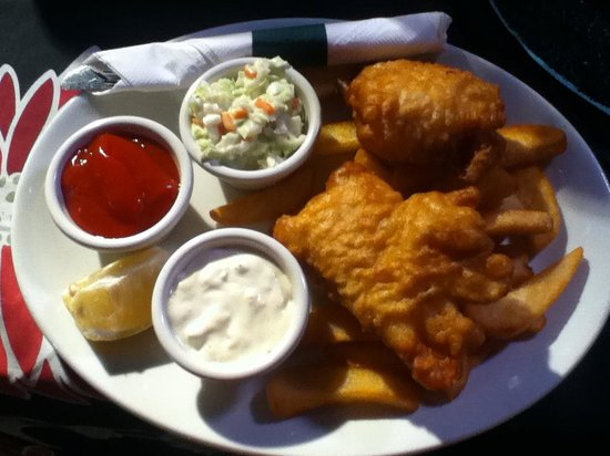 The Burren: Delicious Fish & Chips