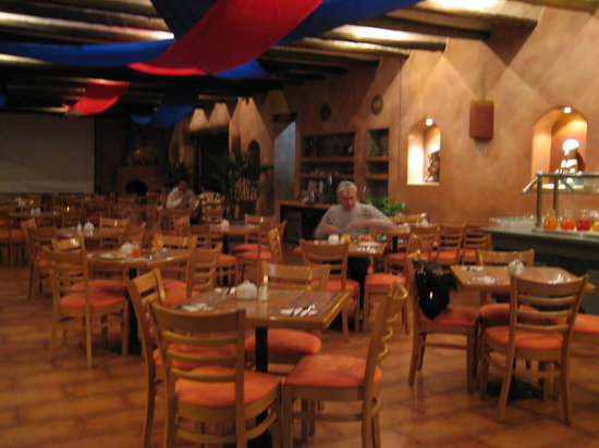 Hotel Rio Amazonas: Breakfast area