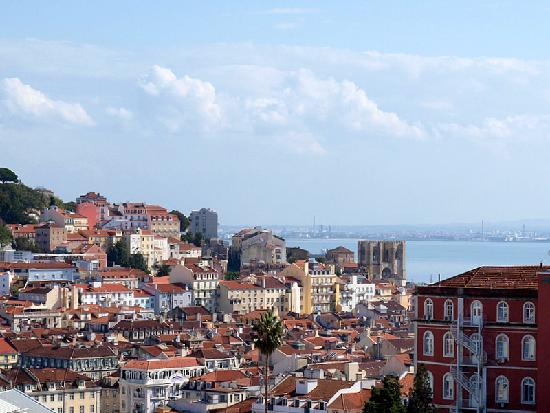 Lisbon Guided Tours: Lisbonu0027s Red Roofs Cityscape!