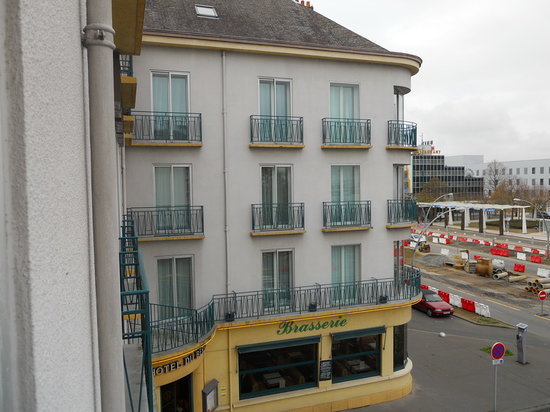 Hôtel Le Berry : View from the balcony