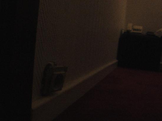 Hotel Windsor: prise arrachée