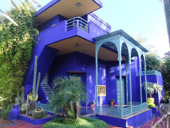 Jardin majorelle photo de ibis marrakech palmeraie for Jardin yves saint laurent maroc
