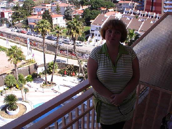 H·TOP Olympic: Вид с балкона