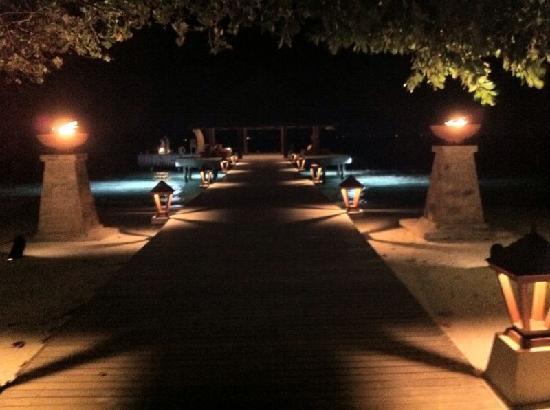 Angsana Ihuru, Maldives : Abendstimmung