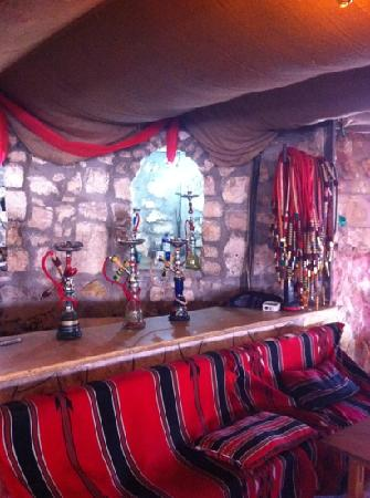 The Tent Restaurant: Exotic water pipes
