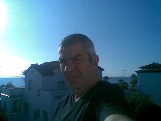 Hotel Los Globos: mediterraneo de fondo