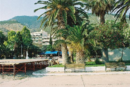 Galanopoulos Hotel: Городской парк