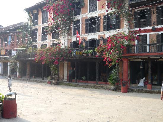 The Old Inn: hotel exterieur
