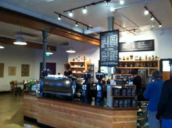 Noble Coffee Roasting : A line that lets you think.