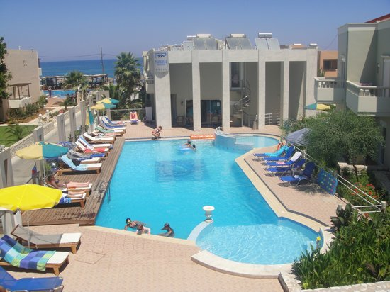 Platanias Mare Hotel : The view from our room!