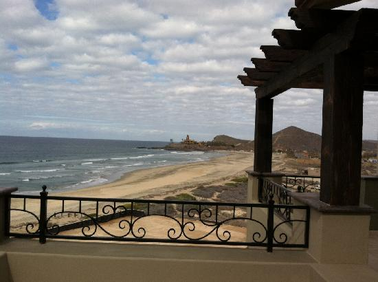 El Pescadero, México: View from the deck at Cerritos penthouse.