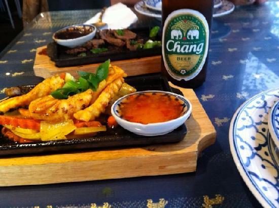 Nirand Thai: Sizzling Calamari