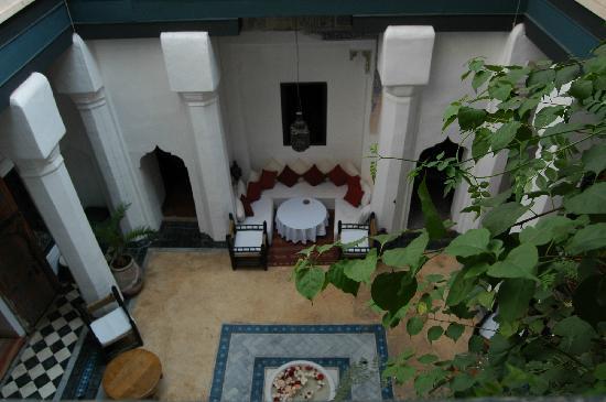 Dar el Qadi : patio espace commun