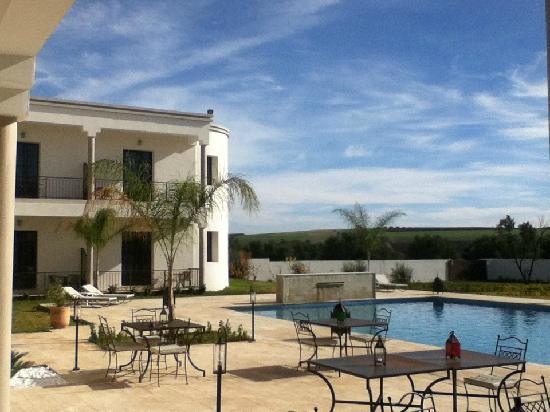 Villa Agapanthe: ...dal ristorante