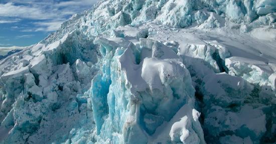 Wanaka Helicopters: incredible view of a wanaka Alpine glacier