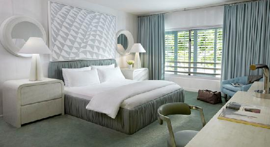 Avalon Hotel Beverly Hills: Single Queen Bed