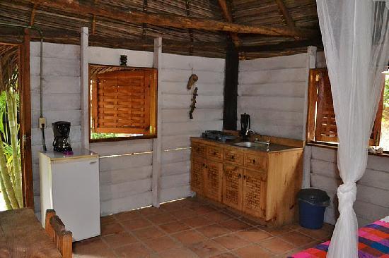 Cabanas La Joya de Yelapa: Kitchenette