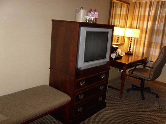 Holiday Inn Toronto International Airport: Television & Desk