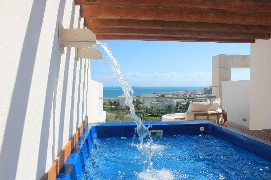 Excellence Playa Mujeres: view from RTT