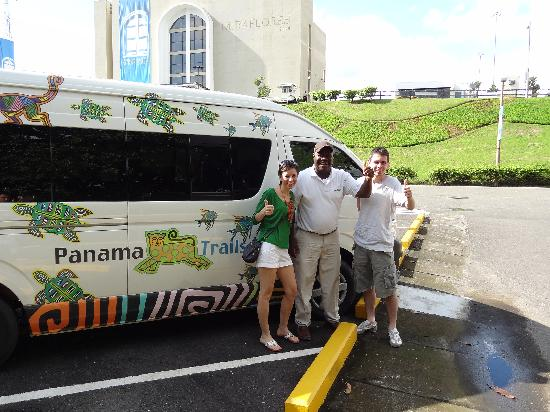 Panama Trails Day Tours: With Melvin at the Canal