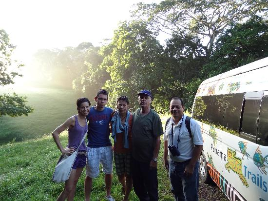 Panama Trails Day Tours: With Ricardo at Soberania Park