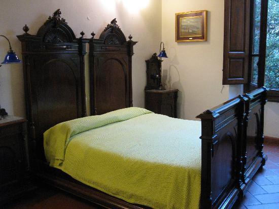 Soggiorno Panerai: ベッド