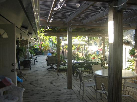 Mango Street Inn: Plenty of outdoor space