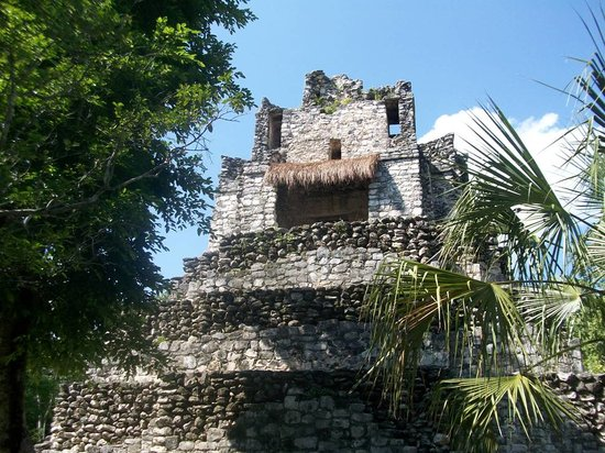 Sian Ka'an Jeep: El castillo