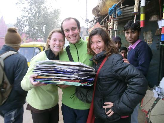 Yoga Education Training Society: Buying kites for kids in the slums