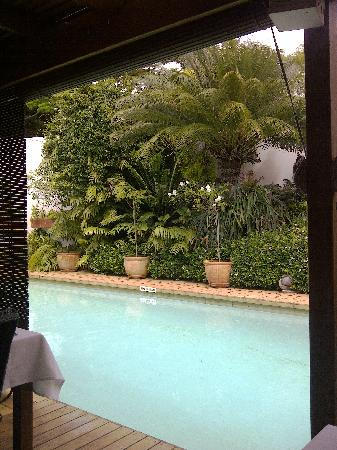 Manaar House: The view from the breakfast table :-)