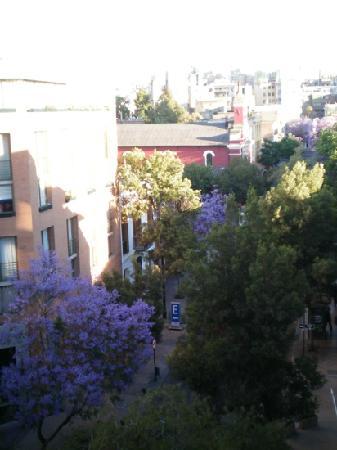 Lastarria 43/61: view from the balcony at lastaria