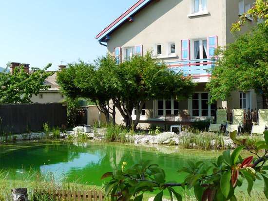 Hotel Bellier : The pool and back of the hotel