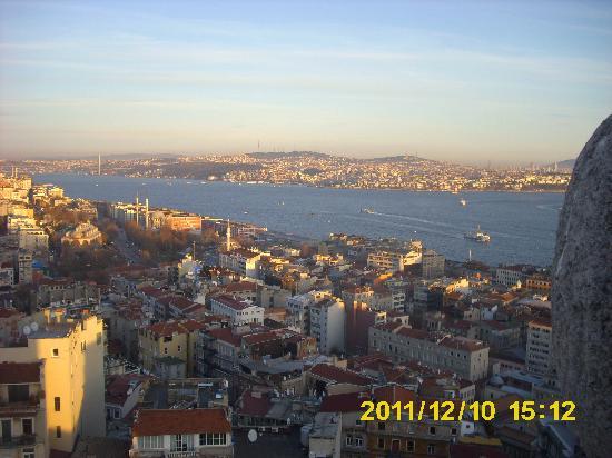Eski Konak Hotel: Blick auf den Bosporus