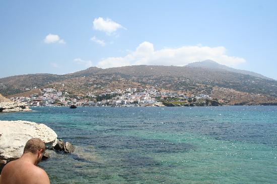 Andros, stad, Grekland: spend your day at the beach
