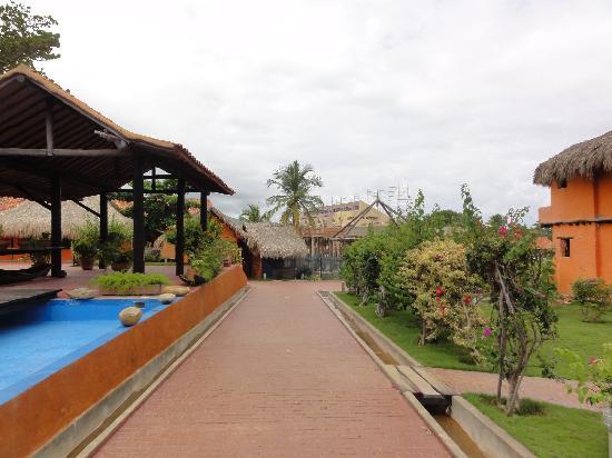 IKIN Margarita Hotel & Spa: Teilweise Baustelle