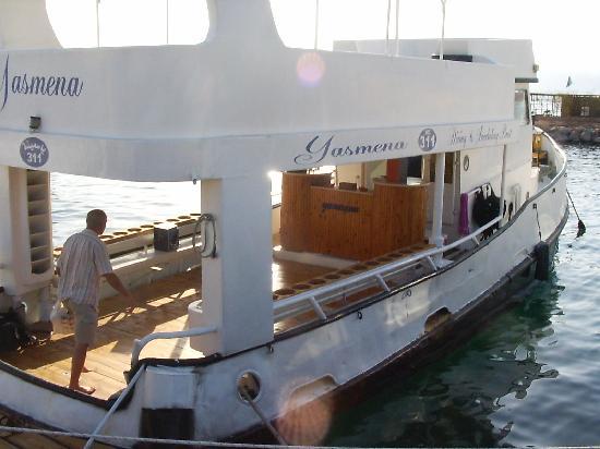 Sea Guard & Yasmena Boat: Yasmena