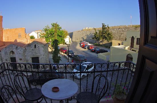 Saint Michel : Veduta dal balcone