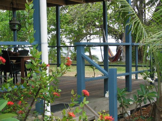 Cocos Castaway: Unit 1 Balcony