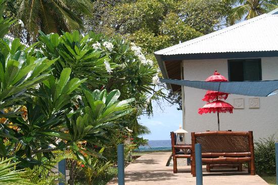 Cocos Castaway: Barbeque area