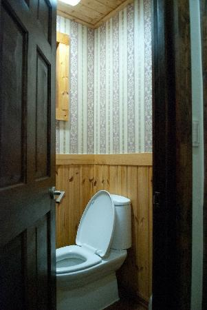 Gyeongju JY Pension: Walnet Room - Toilet