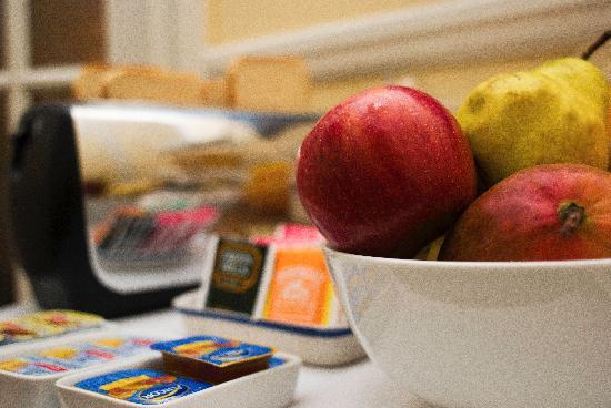 Hotel Frossard: desayuno