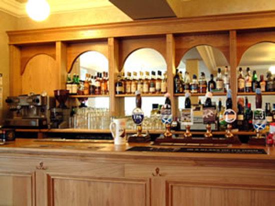 Corbie Inn: Bar Gantry